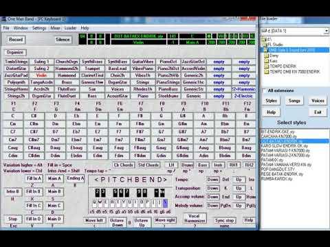 Rena Mix Karaoke Sampling KN7000 OMB BY Deny SRG
