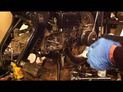 Honda Urban Express Crank Shaft Bearing Seal Install Complete 3