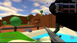 Roblox - Jogando paintball (ft. Nakarrara)
