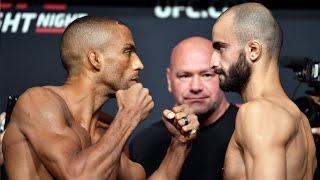 UFC Vegas 35: Weigh-in Faceoffs