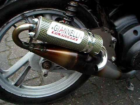 Giannelli Silencer Honda Sh 50 2t