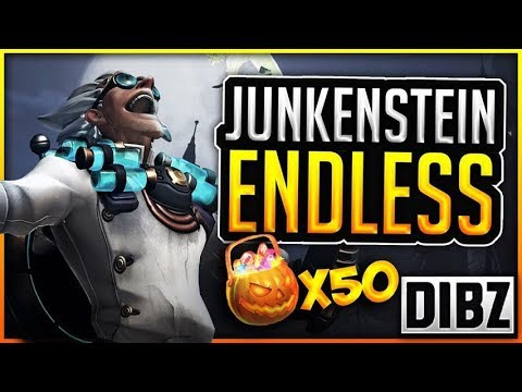 50 Halloween Lootbox Opening + ENDLESS JUNKENSTEIN COMPLETION!