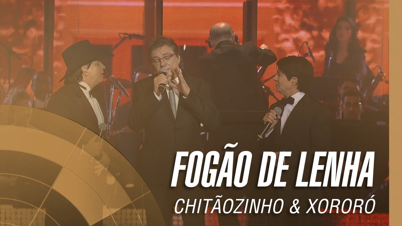 Chitãozinho Xororó Fogão De Lenha Sinfônico 40 Anos Part Especial Fábio Junior Youtube