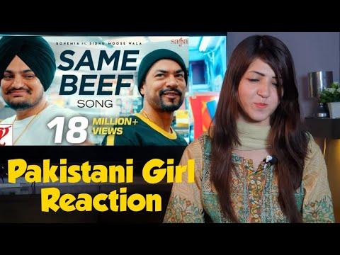 Download Lagu  Pakistani Girl Reactions on Same Beef - Bohemia | Sidhu Moose Wala Mp3 Free