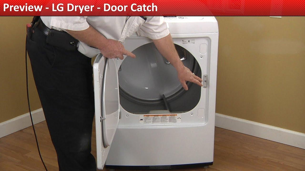 LG dryer Door Catch replacement & LG dryer Door Catch replacement - YouTube Pezcame.Com