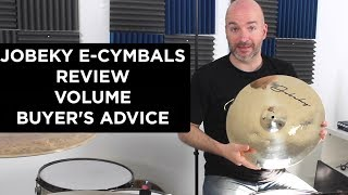 Jobeky E-Cymbals - Review, Volume, Triggering, Buyer's Advice