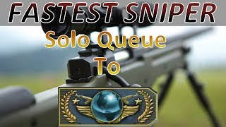 Fastest Sniper Solo Queue to Global - Silvers Wreck Me! (Episode 1)