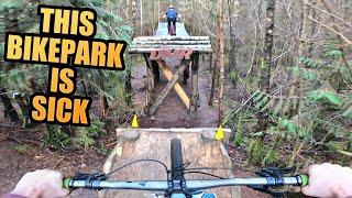 Riding My Downhill Bike - This Bike Park Is Sick