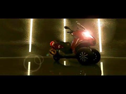 Video 3D model Animated Short movie VFX Robot Peugeot Metropolis CGI after effect 3DS Max film 4D