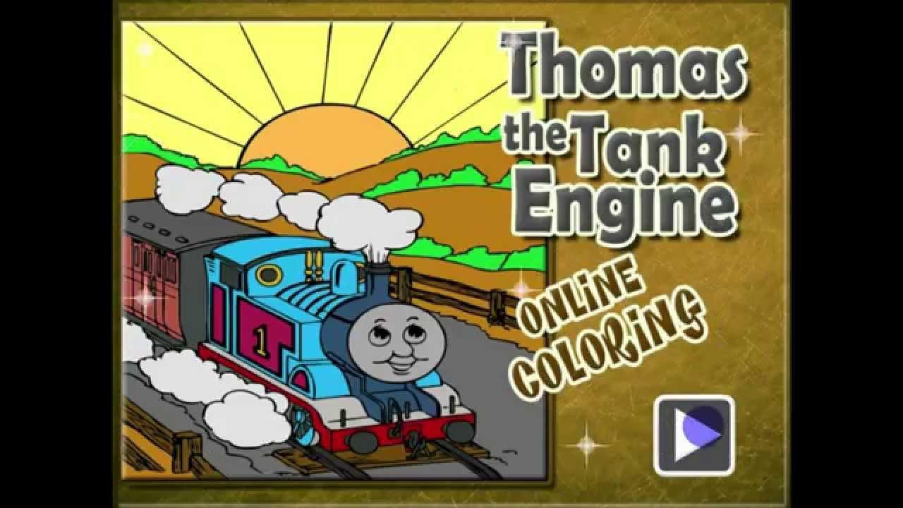 Online coloring games disney - Thomas The Tank Engine Online Coloring Online Games Disney 6