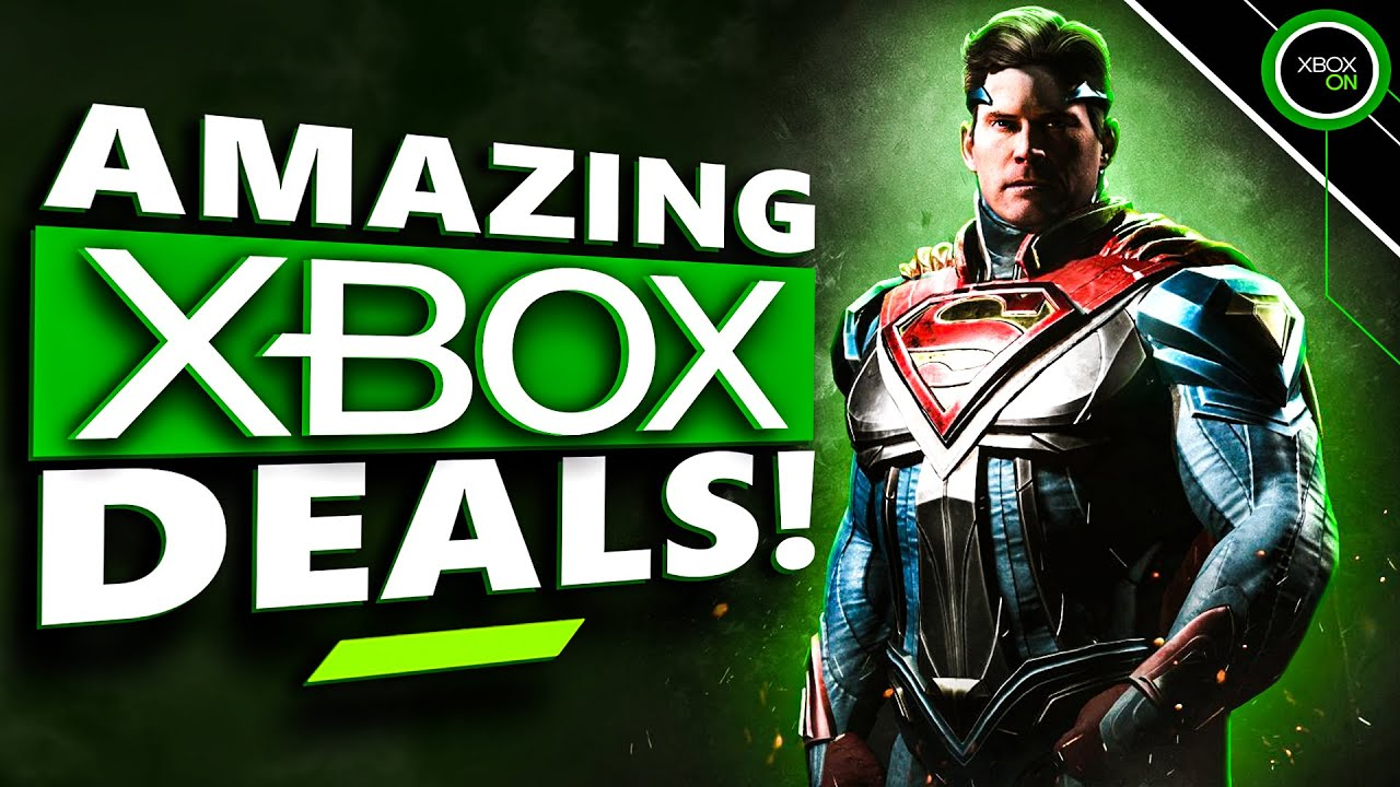 80% OFF XBOX GAMES | Injustice 2, Assassin's Creed Valhalla + MORE | Deals of the Week