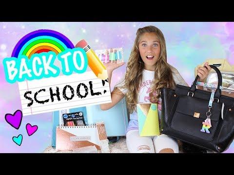 Back to School Supplies Shopping Haul! :)   Rosie McClelland