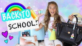 Back to School Supplies Shopping Haul! :) | Rosie McClelland