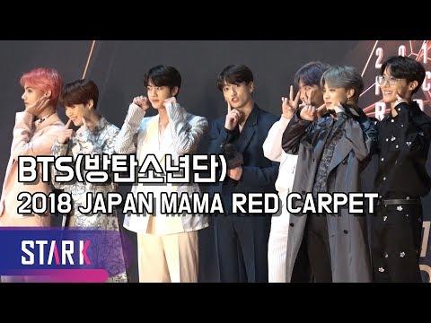 방탄소년단, 일본 마마 레드카펫 현장 (BTS, 2018 JAPAN MAMA Red Carpet)
