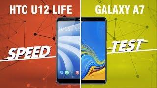 Speedtest HTC U12 Life vs Galaxy A7 2018: Snapdragon 636 đối đầu Exynos 7885