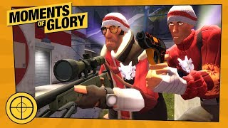 TF2 Moments of Glory is a video series highlighting user submitted frag runs. This edition of Moments of Glory is produced by Lucky Luke. Moment of Glory #527 ...