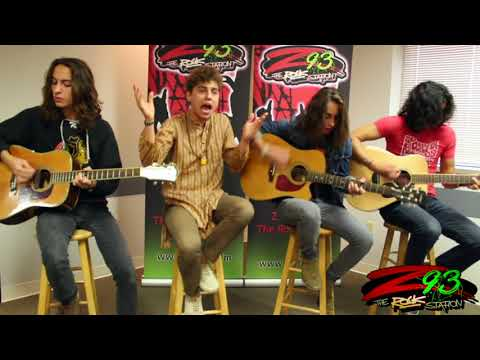 Greta Van Fleet Performs 'Flower Power' in the Z93 Studios