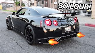 I MADE THE LOUDEST NISSAN GTR IN THE WORLD!!!