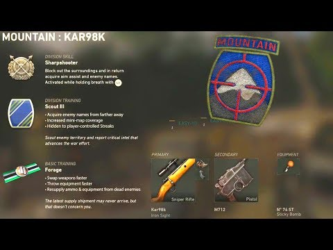 Call of Duty WWII - DIVISIONS EXPLAINED! Ultimate Create-A-Class Guide (COD WW2)