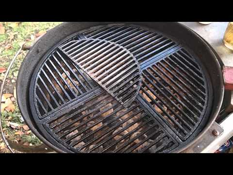Cleaning & Maintaining A Cast Iron Grill