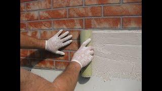 metr kwadratowy w 10 minut jak szybko zrobić, imitację cegły na ścianie lub elewacji