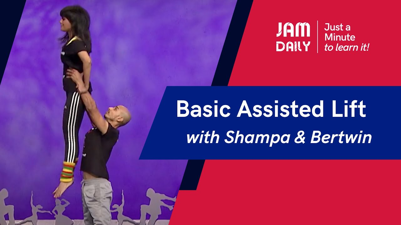 JAM Daily #107 | Just A Minute To Learn 'Basic Assisted Lift (Lifts & Tricks)' | Dance With Madhuri