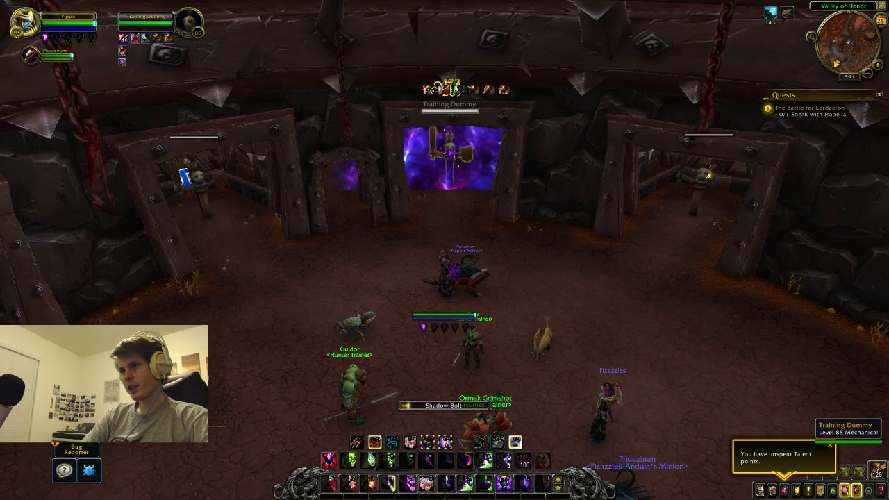 Affliction lock Alpha/beta Review, Battle For Azeroth