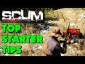 Scum - Scum Starter Tips - Scum Starter Guide (New Survival Game)