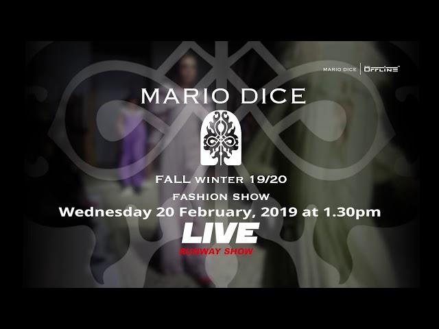 Mario Dice FW19:20 PROMO WEB