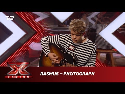 Rasmus synger 'Photograph' - Ed Sheeran (Audition) | X Factor 2019 | TV 2