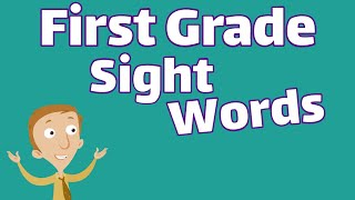 First Grade Sight Words | Dolch List Video