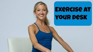 Exercise at Your Desk! Seated Office Workout for Energy