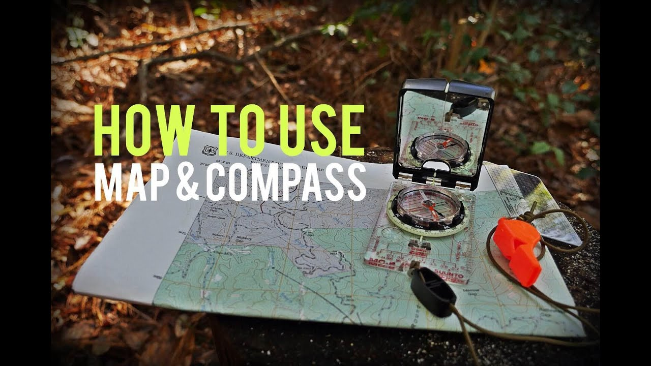 The Idiot's Guide to Using a Map & Compass - My Open Country