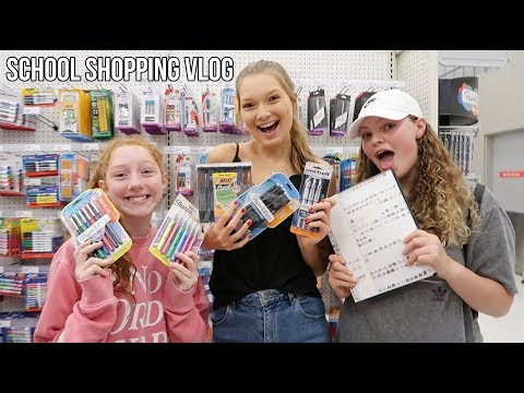 School Supplies Shopping Vlog 2019! Part 2