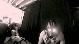 BEHIND THE SCENES Gas Masks -