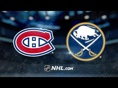 Niemi leads Habs to 3-0 shutout win against Sabres