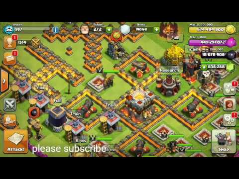 How to get unlimited gems,elixir,gold,dark elixir in clash of clans for free