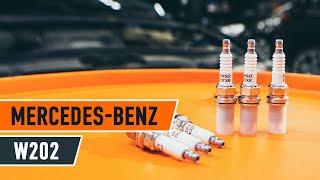 Hvordan bytte Tennplugger MERCEDES-BENZ C-CLASS (W202) - online gratis video