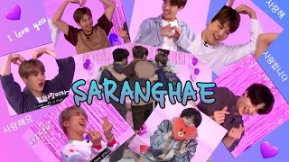BTS SAYING \ I LOVE YOU\ 사랑해 COMPILATION ( WATCH IF YOU MISS BTS IN QUARANTINE)