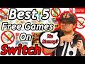 Best 5 Free Games on Nintendo Switch (June 2018)
