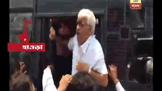 CPM  MLAs tried to enter Nabanna before rally