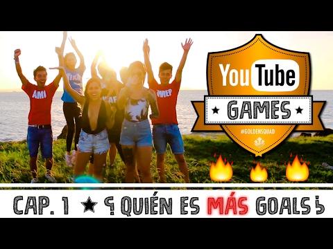 CAP #1: LA PAREJA MÁS GOALS. Youtube Games | Kika Nieto