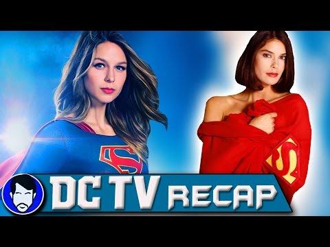 Supergirl Season 2 - Teri Hatcher Returns to SUPERMAN! | DCTV Recap