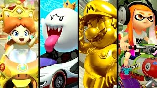 Mario Kart 8 Deluxe ALL NEW FEATURES - Characters, Items, Courses & More (Switch)