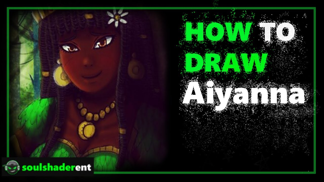 ❇️How to Draw Aiyanna