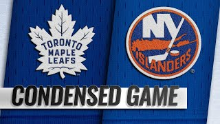 02/28/19 Condensed Game: Maple Leafs @ Islanders