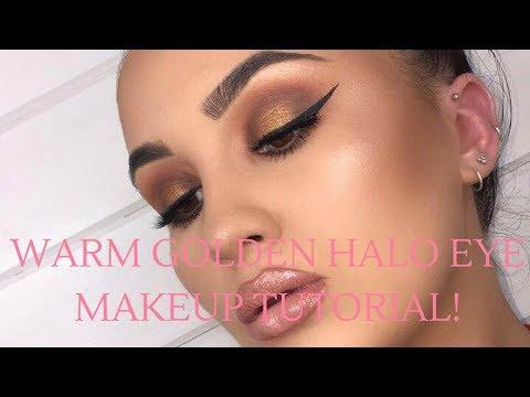 GOLDEN SMOKEY HALO EYE | Abigail Tamsin