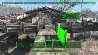 Fallout 4 Building a Fort part 1