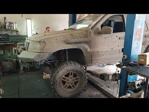 СУРОВОЕ Т.О. Jeep Grand Cherokee 4,7 V8 после  Offroad Family Adventures ФЕСТ МАНЬЯКИ 2018