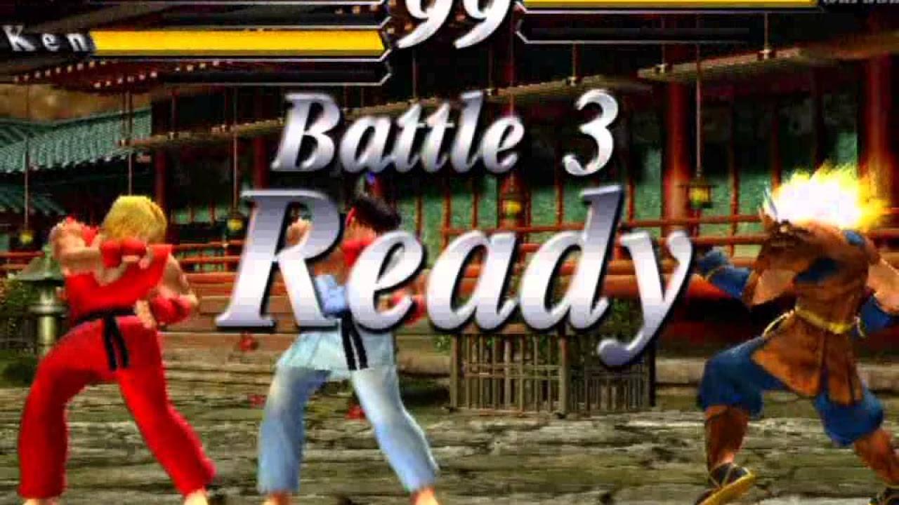 Street Fighter EX Plus Alpha [PS1] - CPU Garuda